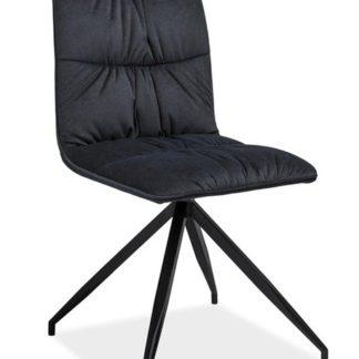 Jídelní čalouněná židle Alex, grafit