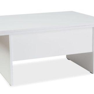 Jídelní/konferenční stůl COSTA A rozkládací, bílá