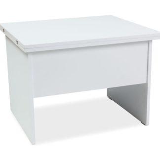 Jídelní/konferenční stůl COSTA B rozkládací, bílá