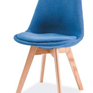 Jídelní židle DIOR, dub/modrá