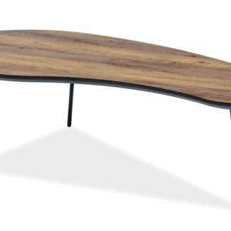Konferenční stolek ENVO A, ořech/černá