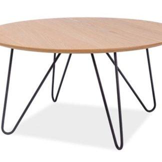 Konferenční stolek GRENA B. dub/černá