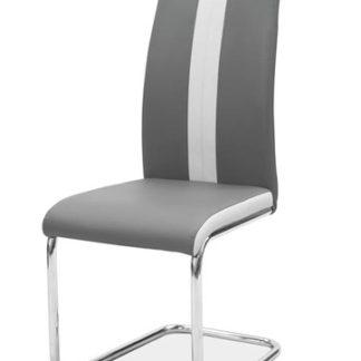 Jídelní čalouněná židle H-200, tmavá šedá