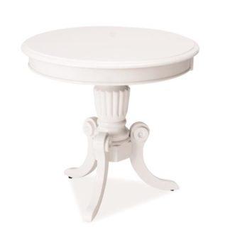 Konferenční stolek NEVADA D, bílý