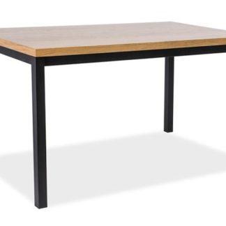 Jídelní stůl NORMANO 180x90, dub/černá