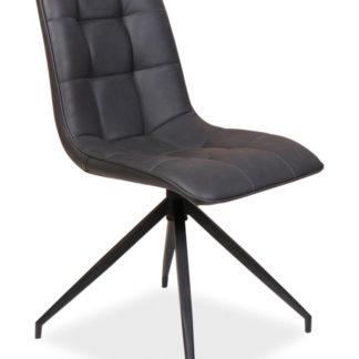 Jídelní čalouněná židle OLAF, šedá