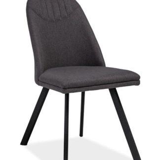 Jídelní čalouněná židle PABLO, šedá