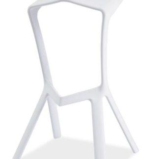 Barová židle VOLT, bílá