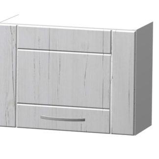 ADELA horní skříňka H 50 N, korpus bílý/dvířka pino aurelio