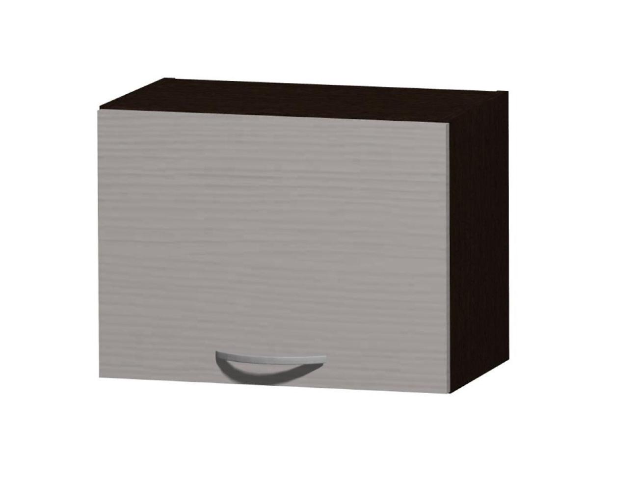 NELA horní skříňka H 50 N, korpus dub tmavý/dvířka woodline creme