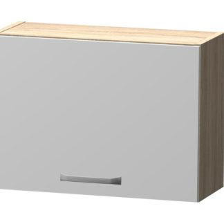 BORA horní skříňka H 50 N, korpus dub bardolino/dvířka bílý lesk