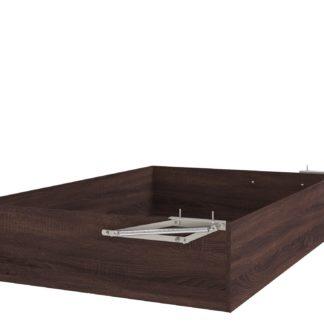 Úložný prostor k posteli UNO 120x200 cm, dub bardolino schoko