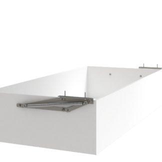 Úložný prostor k posteli UNO 160x200 cm, bílá arctic