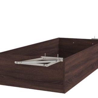 Úložný prostor k posteli UNO 160x200 cm, dub bardolino schoko