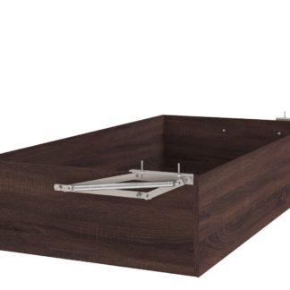 Úložný prostor k posteli UNO 90x200 a 180x200 cm, dub bardolino schoko