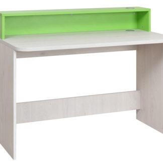 NUMERO PC STOLEK, dub bílý / zelená