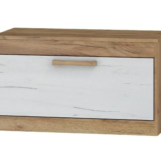 TV stolek 1D MAXIMUS 33, craft zlatý/craft bílý