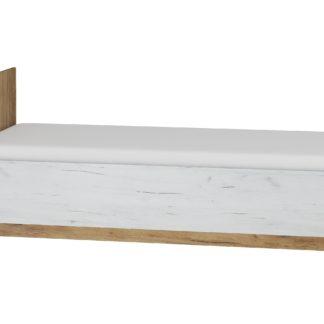 Postel 90x200 MAXIMUS 19, craft zlatý/craft bílý