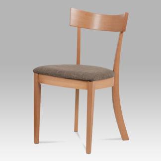 Jídelní židle BC-3333 BUK3, krémová/buk