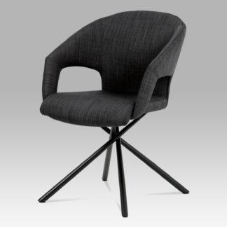 Jídelní židle HC-784 BK2, černá