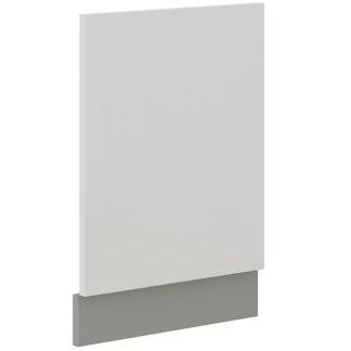BIANKA, dvířka na myčku ZM 570x446, šedá/bílý lesk