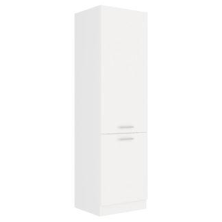 EKO WHITE, skříňka vysoká 60 DK-210 2F, bílá