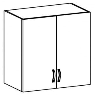 SYCYLIA, skříňka horní s odkapávačem G80C, ořech milano