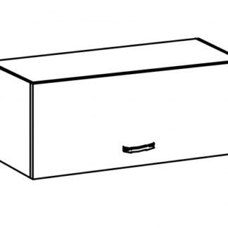 SYCYLIA, skříňka horní nízká G80K, borovice andersen