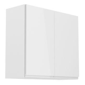 ASPEN, skříňka horní G80, bílá/bílý lesk