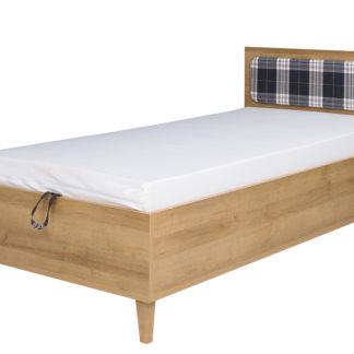 MEMONE postel 90x200 cm, dub zlatý