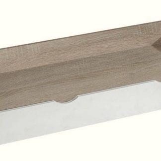 Zásuvka pod postel APETTITA 13, dub jasný/bílá
