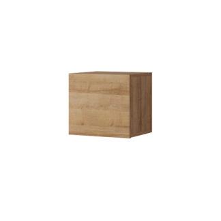 CALABRINI malá závěsná skříňka, dub zlatý