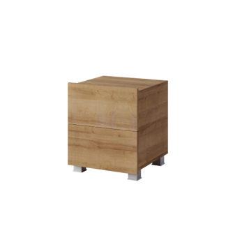 CALABRINI noční stolek, dub zlatý