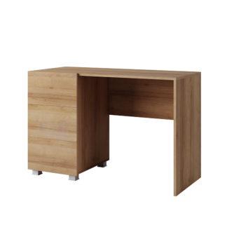 CALABRINI psací stůl, dub zlatý