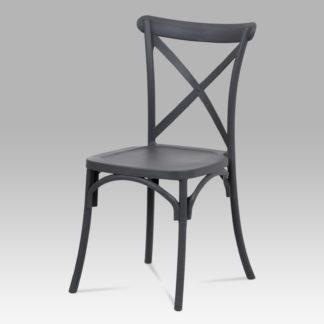 Jídelní židle CT-830 GREY, šedý plast