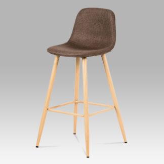 Barová židle CTB-111 BR2, buk/hnědá