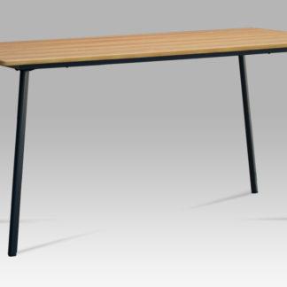 Jídelní stůl 150x80 MDT-2100 OAK, dub divoký/kov