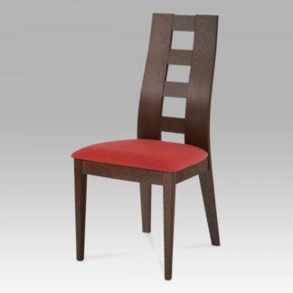 Jídelní židle BEZ SEDÁKU, barva ořech BC-33904 WAL Autronic