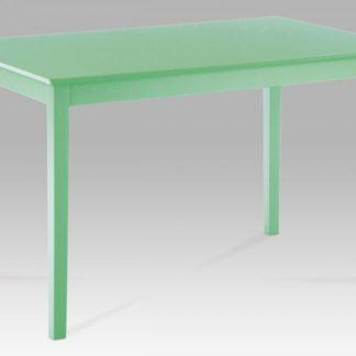 Jídelní stůl 120x75 cm, zelená YAT676 GRN Autronic
