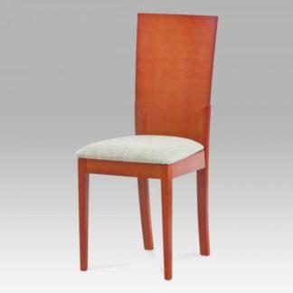 Jídelní židle BEZ SEDÁKU masiv buk, moření třešeň BC-12901 TR2 Autronic