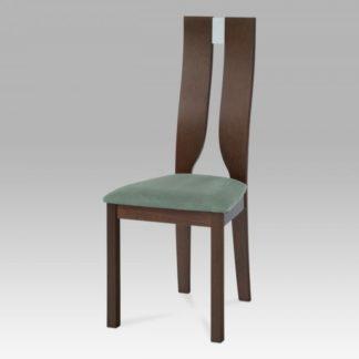 Jídelní židle BEZ SEDÁKU masiv buk, moření ořech BC-22407 WAL Autronic