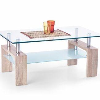 Konferenční stůl DIANA INTRO Halmar tmavý dub sonoma