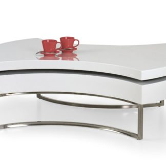 Konferenční stolek AUREA bílá Halmar