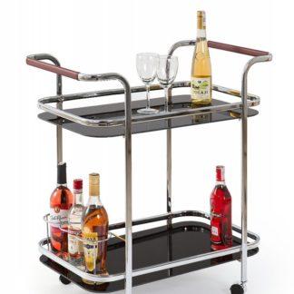 Servírovací stolek BAR-7 černý Halmar