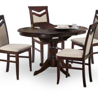 Jídelní stůl rozkládací WILLIAM tmavý ořech Halmar