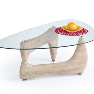 Konferenční stolek KAREN dub sonoma Halmar
