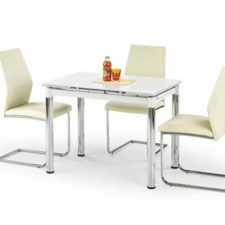 Jídelní stůl rozkládací LOGAN 2 bílý Halmar