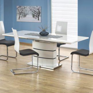 Jídelní stůl rozkládací NOBEL bílý Halmar