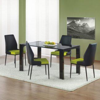 Jídelní stůl KEVIN černá Halmar