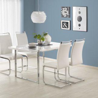 Jídelní stůl LION bílý Halmar